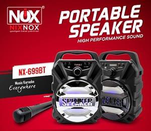 Importir Tangan Pertama Speaker Bluetooth NixNox