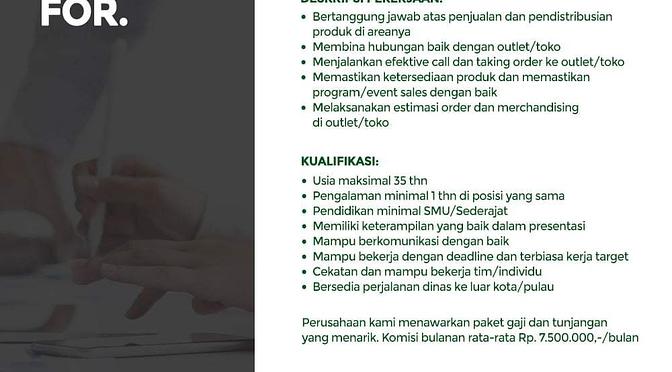 Loker Pt. Master Mat Indonesia | Area Surabaya