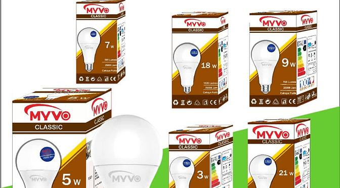 Suplier Bohlam Lampu Myvo dan Produk Elektronik